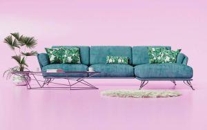 Fotorealistyczne wizualizacja sofy