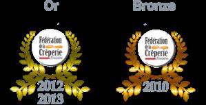 medailles-or-bronze-les-sonneurs-concours creperie-finistere