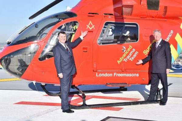 London's second air ambulance funded by Freemasons