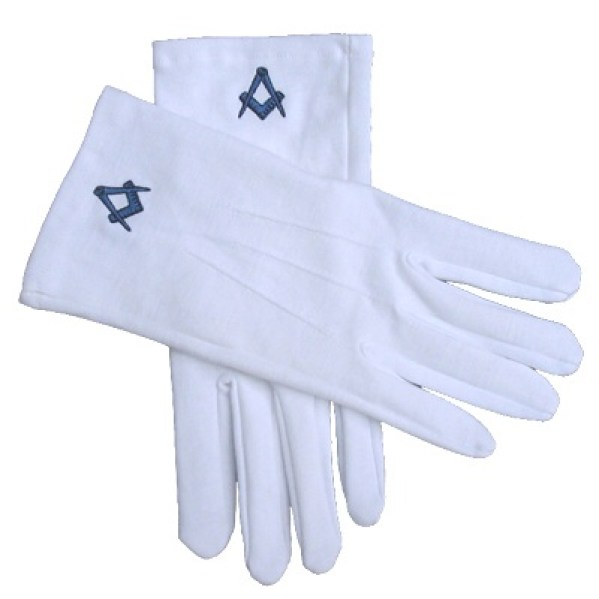 Freemasons Gloves give to me when I joined the Freemasons