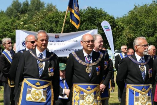 Surrey Freemasons Parade