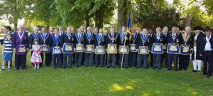 Croydon Freemasons Parade at Warlingham