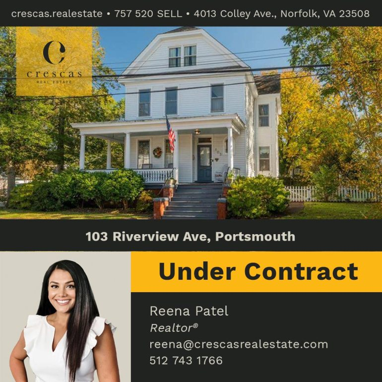 103 Riverview Ave Portsmouth - Under Contract