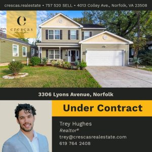 3306 Lyons Avenue Norfolk - Under Contract