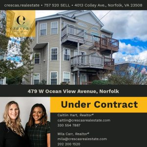 479 W Ocean View Avenue Norfolk - Under Contract