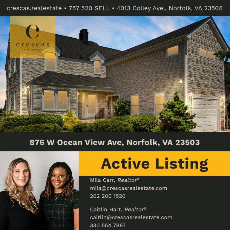 876 W Ocean View Ave Norfolk - Active Listing