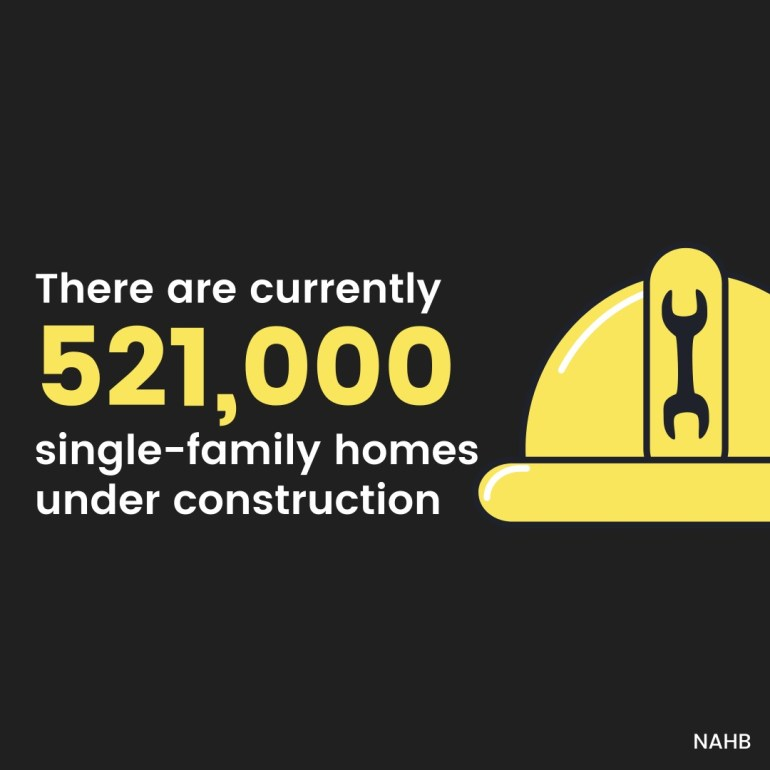 new home construction is on the rise