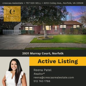 2931 Murray Court Norfolk - Active Listing
