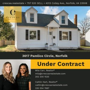 3617 Pamlico Circle Norfolk - Under Contract