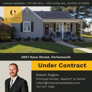 3907 Race Street Portsmouth - Under Contract