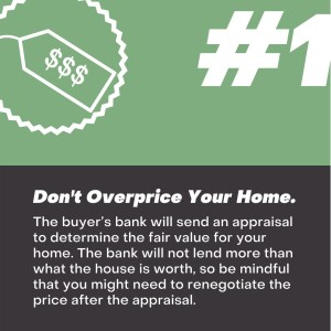 Here's what not to do when selling your home
