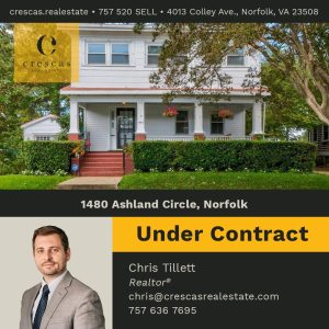 1480 Ashland Circle, Norfolk - Under Contract