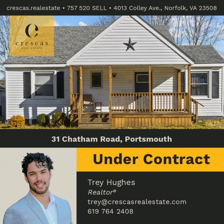 31 Chatham Road Portsmouth - Under Contract