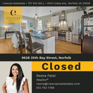 9628 25th Bay Norfolk - Closed