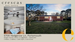 5709 Hedgerow La, Portsmouth