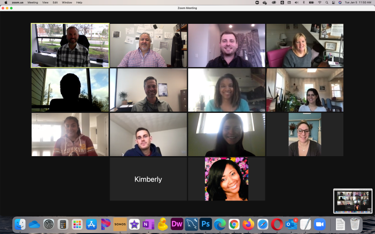 First Sales Meeting of the Year ... Zoom