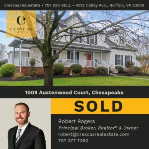 1009 Austenwood Court Chesapeake - Sold