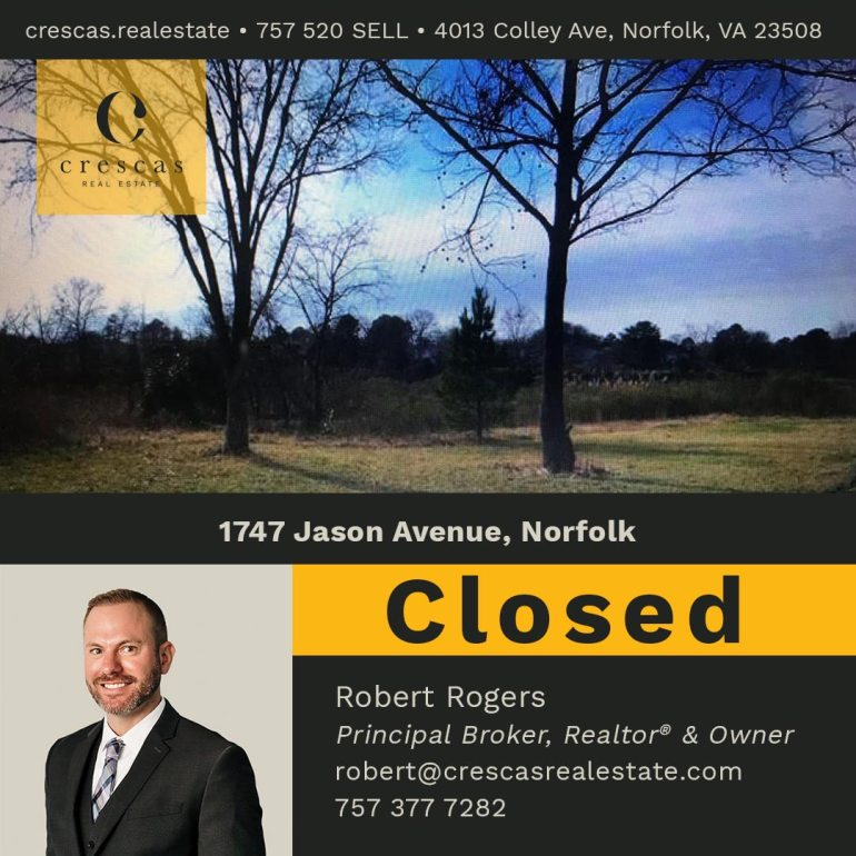 1747 Jason Avenue Norfolk - Closed
