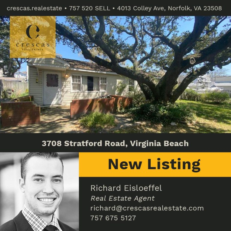 3708 Stratford Road Virginia Beach - New Listing