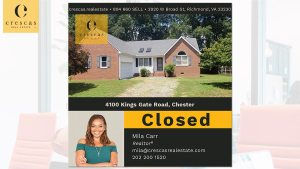 4100 Kings Gate Road Chester - Closed