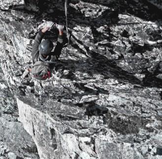 Grande voie à la journée ou en stage dans les Hautes Alpes
