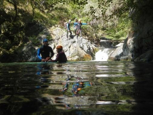 Activité Canyon de Capri, piémont italien, sportif, à partir de 14 ans