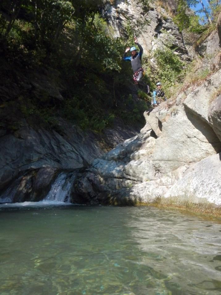 Canyonisme à Capri, piémont italien, sportif, à partir de 14 ans