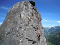 Crescendo stage escalade autonomie dans les Hautes Alpes (05)