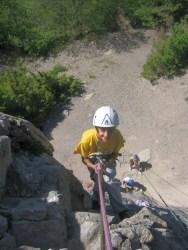 initiation escalade hautes-alpes, Stage escalade