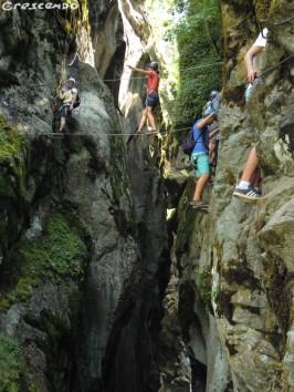 Simi Week1 Via ferrata - parcours d'initiation comme sur les plus sportifs des Hautes Alpes