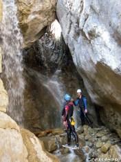 Canyoning - Séjour et vacances été en montagne dans les Hautes alpes