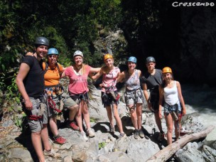 Sortie via ferrata - que faire dans les hautes alpes en été