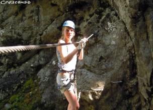 Sorties sportives via ferrata - que faire dans les hautes alpes en été
