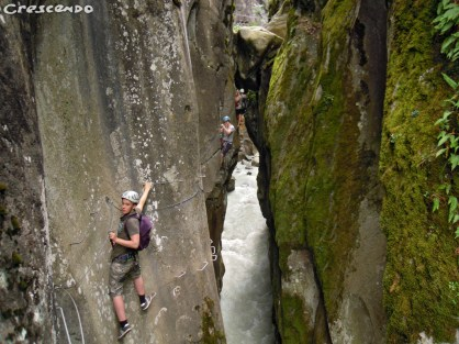 via ferrata Pelvoux - Activités de loisirs dans les Hautes-Alpes - Week-end
