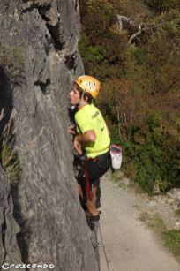 CAF d'Embrun - stages d'escalade pour les jeunes grimpeurs