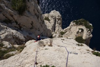 Moniteur d'escalade Calanques - Vide et Eau