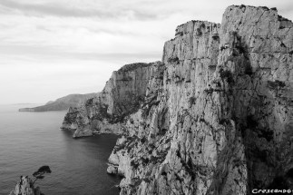 Calanques Devendon - Stage d'escalade en falaise avec un moniteur