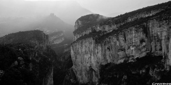 gorges du Verdon escalade - stage terrain d'aventure de notre formation pour devenir moniteur d'escalade