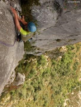 stage d'escalade, hautes-alpes et verdon