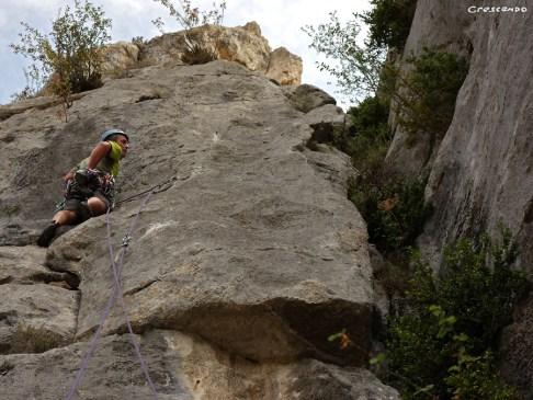 guide d'escalade, grande voie en Provence