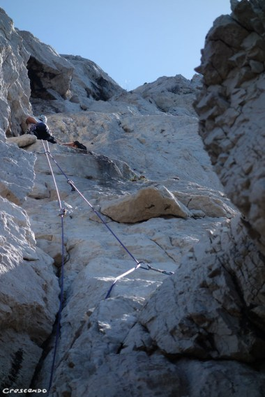 CAlanques escalade, stage perfectionnement