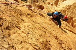 Escalade stage, Calanques, stage escalade Sud, Provence escalade