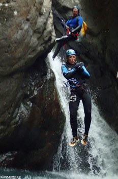 Canyoning sportif, canyoning journée, les oules de freissinieres