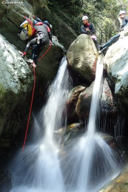 Canyoning caprie, rio sessi, canyon sporti 05