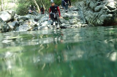 Canyoning journée, canyoning guillestre