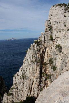 Essadon, découvrir la grande voie, moniteur escalade Calanques, moniteur escalade