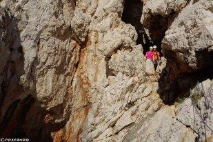 grimper dans les Calanques, escalade Calanques, grande voie apprendre