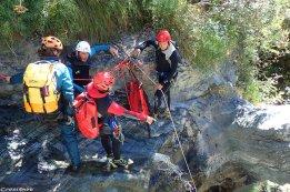 canyoning hautes-alpes, canyoning Palvoux, canyon Vallouise