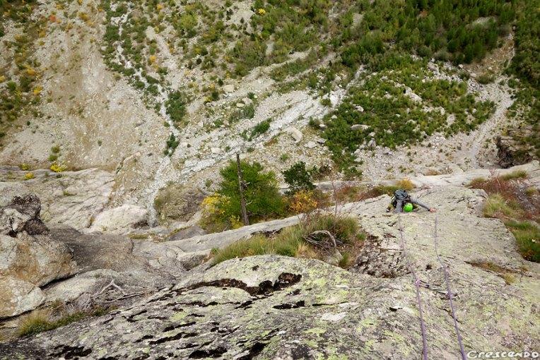 hautes-alpes escalade, grimper 05, grimpe Ailefroide