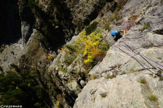 grimper à Ailefroide, grimper en granite